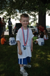 Our own little soccer star