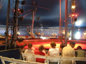 There are no bad seats at this circus