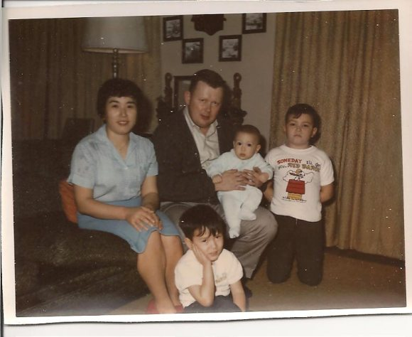 A picture of the family - Christmas 1967 (JT's the baby)